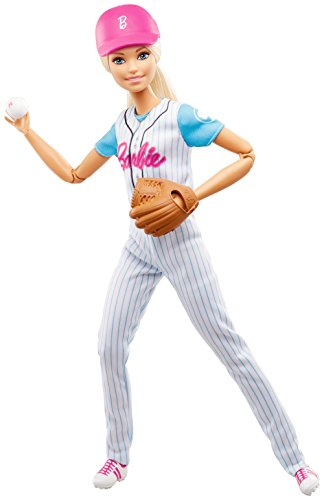 - Barbie Made to Move Baseball Player Doll