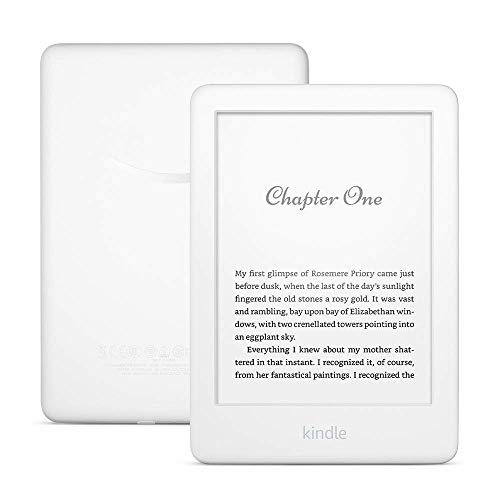 All-new Kindle - Now with a Built-in Front Light - 4 GB, White (International Version)