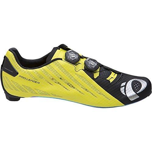 禁止するチャネル間違えた(パールイズミ) Pearl Izumi PRO Leader v4 Cycling Shoe メンズ ロードバイクシューズBlack/Lime [並行輸入品]