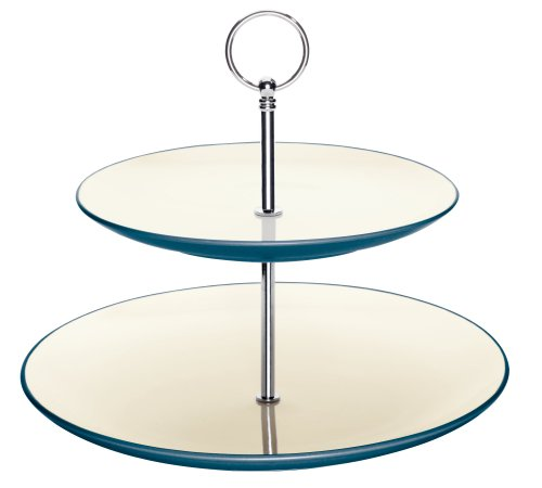 Noritake Colorwave Blue Two Tier Hostess ()