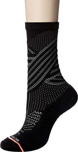 Stance Women's Train Crew Running Socks, black, M ()