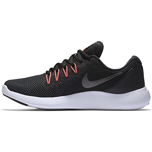 Scarpe Da Corsa Apparenti Lunari Nike Nike (9.5 B (m) Us, Nero / Grigio Scuro Metallizzato-rosso Solare)