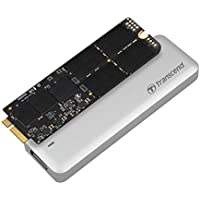 Transcend 480GB JetDrive 725 SATAIII 6Gb/s Solid State Drive Update Kit for MacBook Pro 15 with Retina Display, Mid 2012 - Early 2013 (TS480GJDM725)