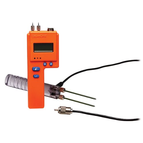 - Delmhorst BD-2100/PKG Digital Pin-Type Moisture Meterinsulation Package