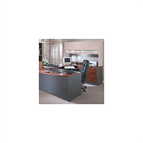 Bush Business Series C 3-Piece U-Shape Right-Hand Corner Desk by bbf