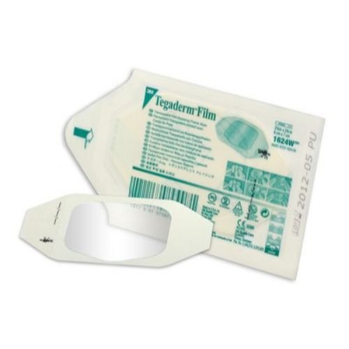 3M Health Care 1624W Tegaderm Film Dressing, Frame Style, 2.75