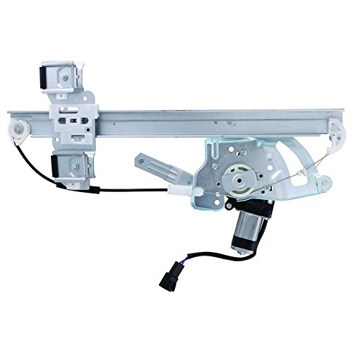 Parts Player New Window Regulator W/ Motor Front Left LH Drivers For Pontiac 2000-2005 (Motor Pontiac Bonneville Window)
