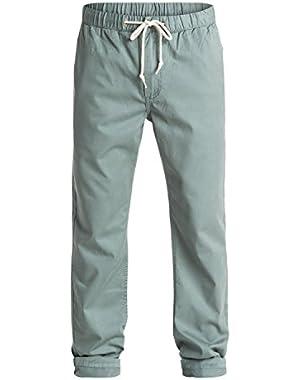 Men's Coastal Chino Pants and HDO Travel Sunscreen (15 SPF) Spray Bundle