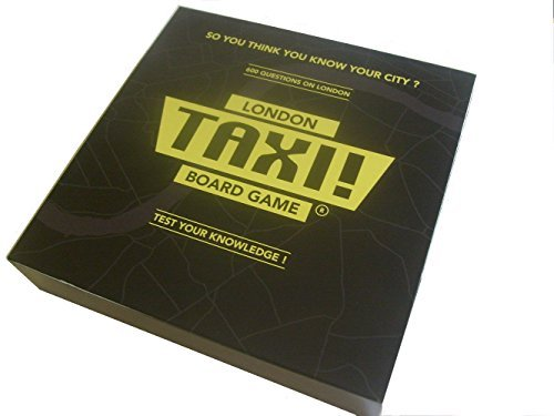 London Taxi Board Game. A Box Full of Fun and Knowledge