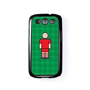 Southampton Black Hard Plastic Case for Samsung? Galaxy S3 by Blunt Football + FREE Crystal Clear Screen Protector