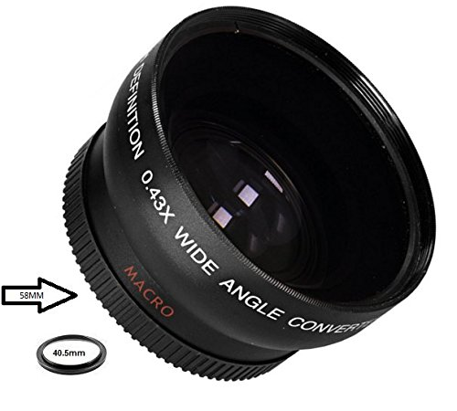 Wide Angle .43x Conversion Lens with Macro