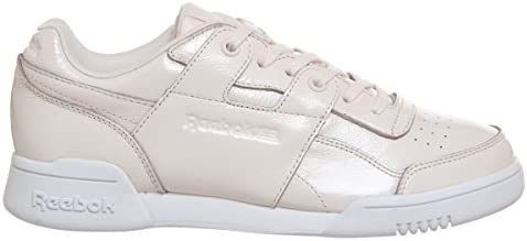 Reebok Workout Lo Plus Iridescent Womens Sneakers Pink