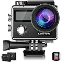 Campark X20 4K 20MP Waterproof Action Camera for Travel...