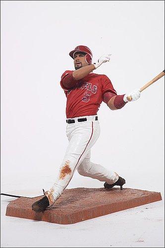 Los Angeles Angels Albert Pujols #5 McFarlane Figurine - Licensed MLB Baseball Merchandise