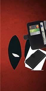 NEECELL GIFT forCITY // Billetera de cuero Caso Cubierta de protección Carcasa / Leather Wallet Case for Sony Xperia Z3 D6603 // Resumen de araña Superhéroe