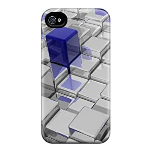 Premium 3d Cubes Back Covers Snap On Cases For Iphone 6