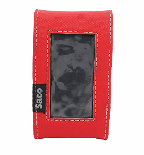 Saco Pouch for Reliance JioFi3 4G Hotspot Router  Red