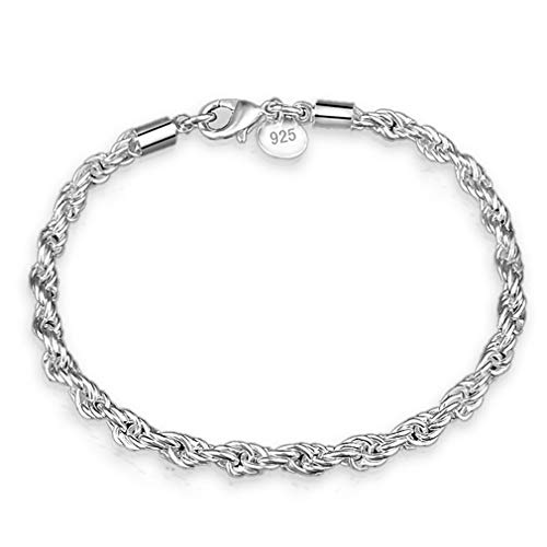 YESMAEA Twisted Rope Chain Bracelet Barefoot Jewelry Chain Anklet Women Foot Bracelet Great Gift to ()