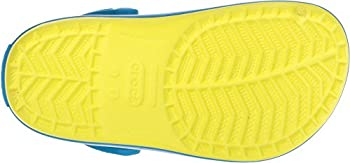 Crocs Kids' Crocband K Clog,tennis Ball Greenocean,9 M Us Toddler 2
