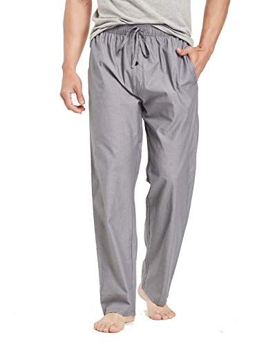 CYZ Men's 100% Cotton Poplin Pajama Lounge Sleep Pant-F1706-M ()