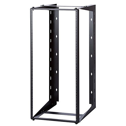 24U Dual Swing-out Open Frame Wall Mount Rack 18'' Depth USA Made by RackMark