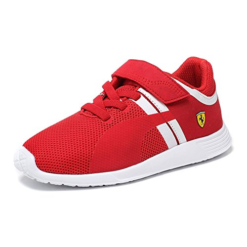 205146e92ee Puma F116 SF Ferrari Kids Junior Boys Motorsports Casual Touch Fastening  Trainer Shoes: Amazon.co.uk: Shoes & Bags