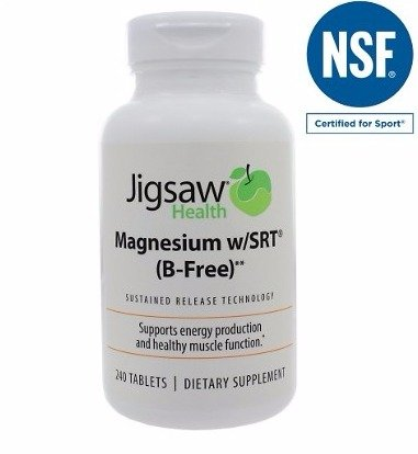 Jigsaw Health Magnesium W/SRT (B-free) 10 Bottles