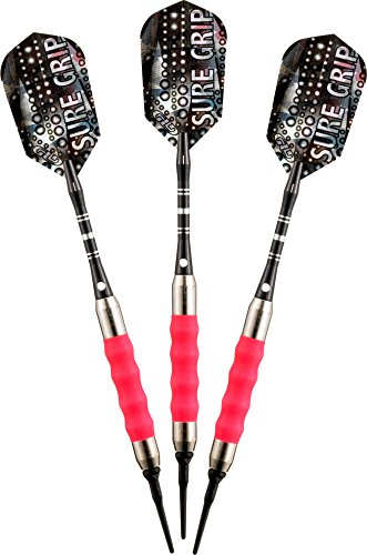 (Viper Sure Grip Soft Tip Darts, Pink, 16 Grams)