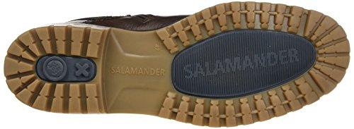 Salamander Herren Brad Biker Boots Braun (Tdm)