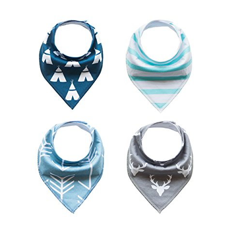 4pcs-baby-bandana-drool-bibs-with-snaps-unisex-4-pack-set-for-drooling-and-teething-babies-soft-abso