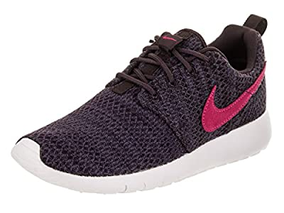 Nike Youth Roshe One Grade School Port Wine Pink Prime Fabric Trainers 39 EU