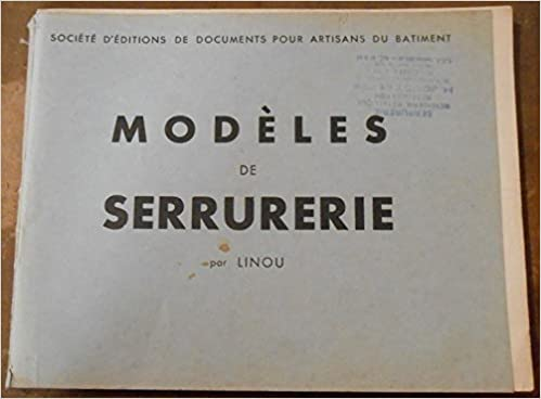 Livre Kindle télécharger ipad Modèles de Serrurerie B01IKOZWZ0 PDF DJVU FB2