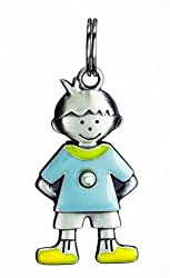 Birthstone Kid's Tag - Boy - June