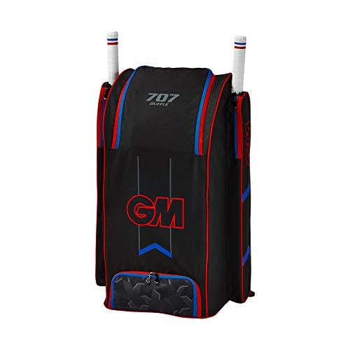 (Gunn & Moore GM Cricket Premium Kit Bag, 2019 Edition - 707 Duffle)