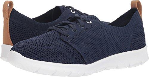 CLARKS Women's Step AllenaSun Sneaker, Navy Textile, 090 W ()