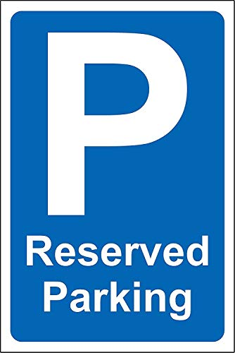 New Reserved Parking Safety Sign for Office, Company, School, Hotel 12x8.