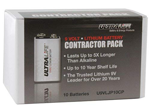 9V Contractor Battery Pack by Ultralife (Image #3)