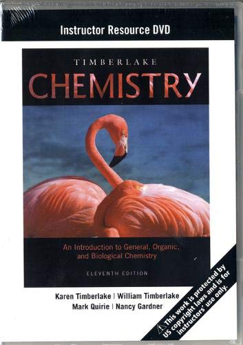 Instructor Resource DVD for Chemistry: An Introduction to General, Organic, and Biological Chemistry 11th Edition (General Organic And Biological Chemistry 11th Edition)