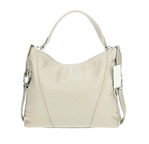 Made donna cm Beige BxHxT Italy Borsa a tracolla 39x39x9 rBUYzrIwq