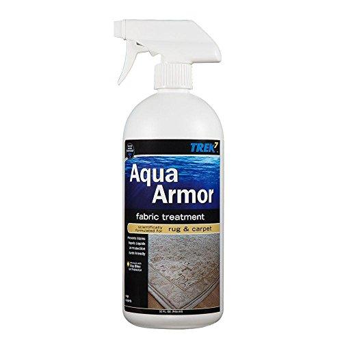 Trek7 Aqua Armor 32 oz. Fabric Stain Protector for Rug an...