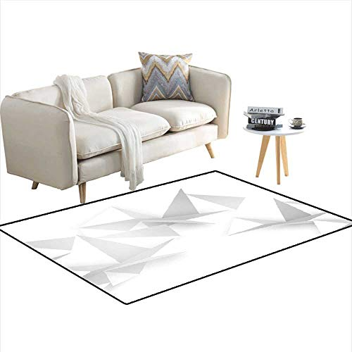 - Area Rugs for Bedroom Vector Abstract Geometric Shape from Gray 55