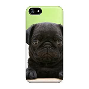 diy phone caseTtq2245Ynrt Case Cover Black Pug Puppy Iphone 5/5s Protective Casediy phone case
