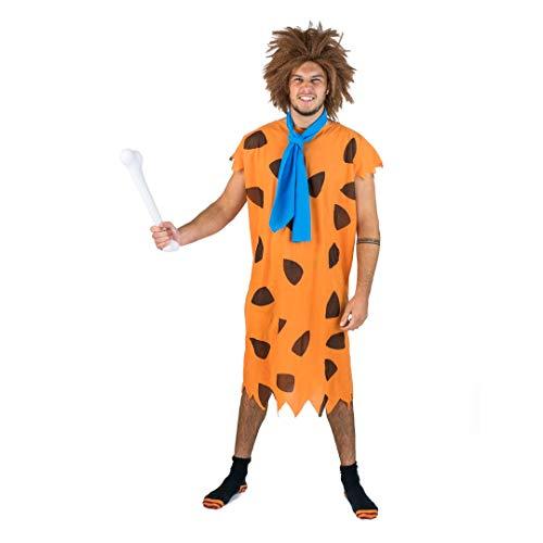 Bodysocks Fred Stoneage Caveman Mens Costume (Large) -