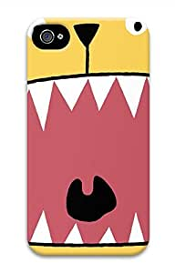 Big Mouth Hard Case Cover Skin for iPhone 4 4S by mcsharks