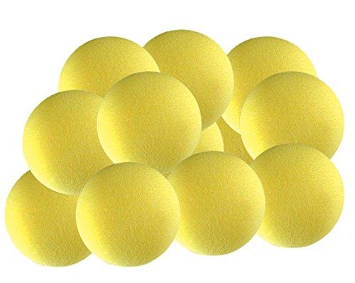 Indoor Tennis Balls - TOURNA 12 Pack Foam Balls 12 Pack