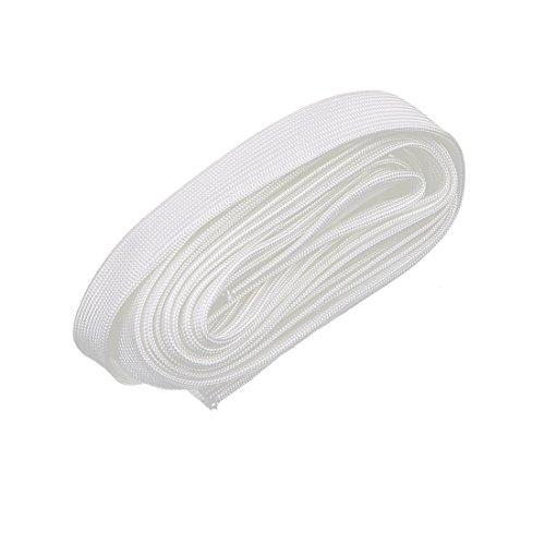 mp Resistance PVC Fiberglass Insulation Sleeve 5M Long 12mm Dia ()