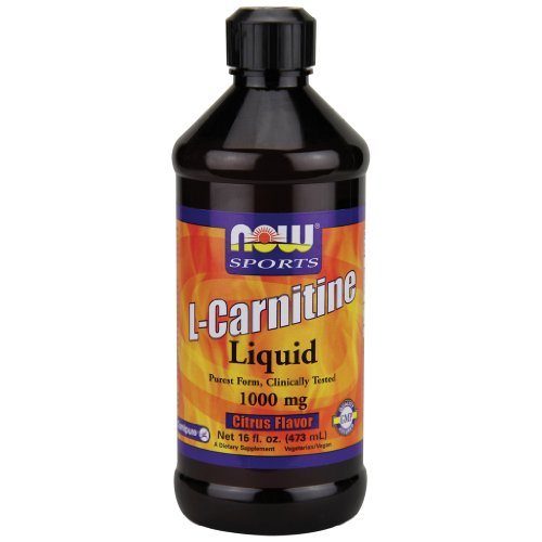 Now Foods L Carnitine Liquid Citrus Flavor 1000 mg 16 oz.