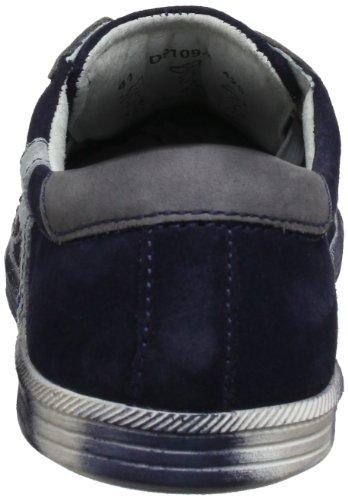 Bugatti D91093 D9109-3 - Zapatos de cuero para hombre Azul (Blu (Blau (dunkelblau 425)))