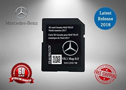 2017 2018 Mercedes-Benz GLC e y clase C mapa SD tarjeta GPS de navegación Garmin Map Pilot 8.0 W205 Audio 20 OEM: Amazon.es: Electrónica