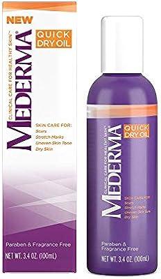 Mederma Quick Dry Oil - 3.4 oz, Pack of 3